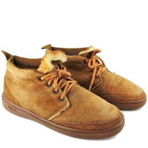 UGG Men's Wool Lined Suede Chukka Boots Size 10